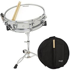 Mendini by Cecilio Student 14inch Snare Drum Set with Soft Case Drum Sticks and Stand >>> More info could be found at the image url.(It is Amazon affiliate link) #babygift