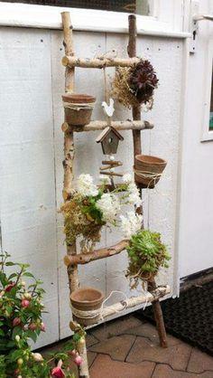 Make DIY garden decoration yourself - deco ideas for the spring - Garten