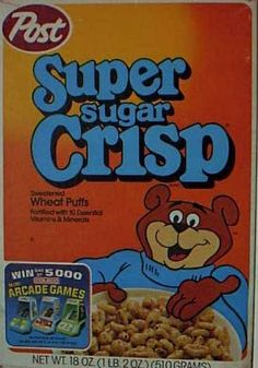 My Grandmother had a perculator, so her house had the smell of coffee. But, being kids, we didn't know that, and we always told her, it smelt like @Super Sugar Crisp.