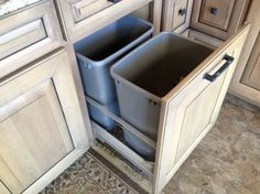 Cool Cabinet Features  kitchen cabinets