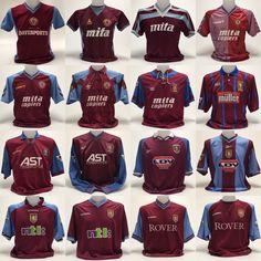 Aston Villa Kit, Super Club, First World, Chelsea, England, Football, History, Hs Football, American Football