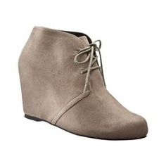 Women's Mossimo® Patty Wedge Boot - Taupe