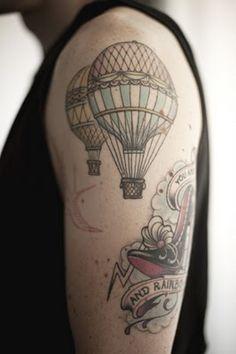 Hot Air Tattoo