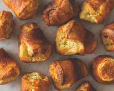Whether you harbor a passion for eggs that fuels your mornings or are simply an admirer from afar, you'll want a copy of The Perfect Egg. Try this perfect savory popover recipe full of creamy Havarti cheese and grassy, herbal dill. Popover Recipe, Popover Pan, Havarti Cheese, Savoury Baking, Breakfast Bake, Great Recipes, Recipe Ideas, Favorite Recipes, Food Inspiration