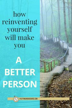 Reinventing yourself means to stop living behind the image you project and that other people expect of you, and to instead show the world who you truly are. It's being true to yourself, not pretending to be something you're not. via @https://www.pinterest.com/plottinganewcourse/