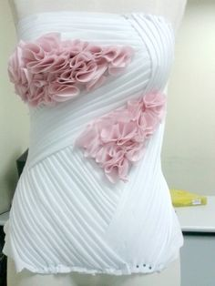 moulage tutorial drapeado #Draping