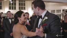 Gorgeous wedding day filmed at First United Methodist Church Westfield and the Park Savoy Estate in Florham Park, NJ.  Bridesmaids wore a deep red.  The bride was surprised by her friends singing a Les Mis classic at the reception.