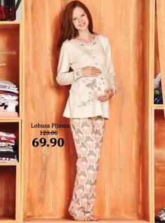 Maternity Nursing Dress, Pajamas Women, Pajama Set, Lingerie, Pants, Pj, Dresses, Fashion, Nightgown
