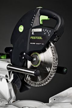 Festool Kapex Miter Saw guide rails and laser