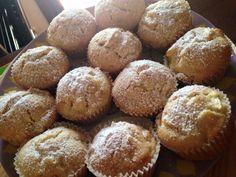 Muffin preparati da @uncimatto seguendo questa ricetta http://imenudibenedetta.blogspot.com/2012/10/muffin-alle-mele.html