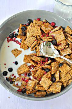 Crispy Graham Cracker Cereal  |  Rabbit and Wolves  |  V