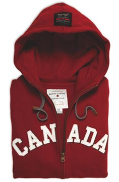 Love this Roots Canada hoody! Roots makes such a great Canada themed clothing.