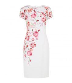 Pretty rose dress.