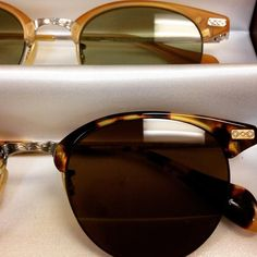 So getting a pair of Oliver People's sunglasses - LOVE! Executive Series details