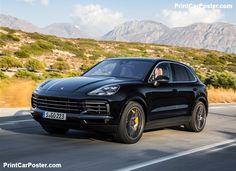 Porsche Cayenne 2018 poster, #poster, #mousepad, #tshirt, #printcarposter