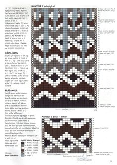 Fair Isle Knitting Patterns, Fair Isle Pattern, Knitting Charts, Knitting Stitches, Knitting Designs, Knitting Needles, Knit Patterns, Free Knitting, Baby Knitting