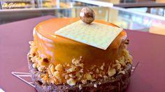 Qué rico, avellana hecha obra de arte, en la pastelería artesana El Goloso de Tarancón.