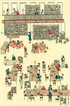 Illustration by Vikki Chu, via Behance