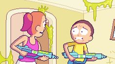 PixelArtus — Rick and Morty - Pixel Art Intro Full...