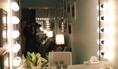 Kelly's mirror in her dressing room #KellyandMichael