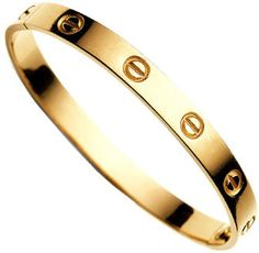Cartier Love Bracelet, the story behind this is awesome