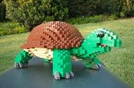 LEGO Sculpture Turtl