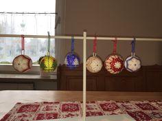 palline natalizie tissage danese