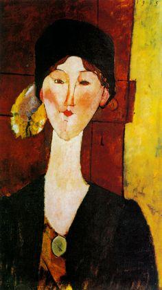 Amedeo Modigliani - Portrait of Beatrice Hastings