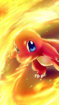 Charmander my favorite fire starter using flame thrower