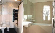 Before and After bathroom design Transformation Images, John Evans, Interior Architecture, Interior Design, Bathtub, Bathroom, Architecture Interior Design, Nest Design, Standing Bath