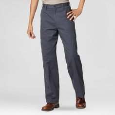 Dickies Men's Loose Straight Fit Cotton Cargo Work Pant-