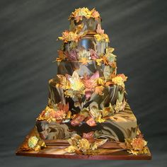 best wedding cakes fall decorations The Best Wedding Cakes