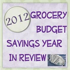 The 2012 Grocery Budget year in review- a look at how it all comes together! Our families grocery/household budget is $ 250 per month (*12= $ 3,000 per year). This includes all of our groceries for a family of two adults and two teenage guys, plus planning for their friends/ our friends at least twice per week. This also includes all cleaning supplies, personal care items, toilet paper/paper towels and pet food as well.