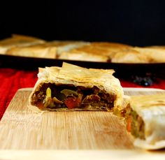 Curried Lentil Hand Pie