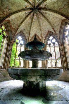 Fountain, Maulbronn Monastery Complex - Germany