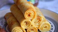 Pâte à crêpes parfaite de Pierre Hermé - Tasties Foods Thing 1, Beignets, Gelato, Hot Dog Buns, Nutella, Peanut Butter, Sausage, Caramel, Brunch