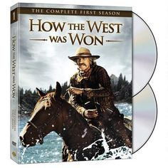 How The West Was Won: The Complete First Season (Dvd) from Warner Bros.: Now available on DVD, How the West Was… #Movies #Films #DVD Video