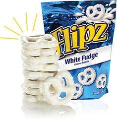 Amazon.com: Flipz White Fudge Pretzels, 5oz (Pack of 4)