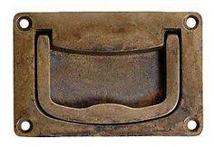 Classic Hardware Bosetti Marella Recessed Bail Pull (Antique Brass Distressed)