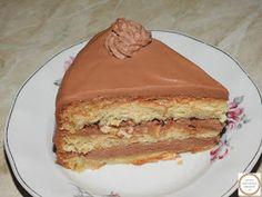 Desert cu crema de finetti si mascarpone Nutella, Pancakes, Pie, Breakfast, Desserts, Food, Chowder, Mascarpone, Fine Dining