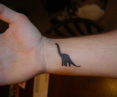 Yes, Ayden will have a dinosaur tattoo. One of the 10 tattoos he tells me he is going to have....