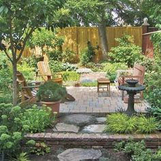 Get the outdoor planting plan for this lovely urban oasis. | Photo: David Burton | thisoldhouse.com