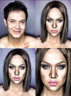 Paolo Ballesteros' Make-Up Transformations