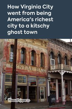 How Virginia City went from being America's richest city to a kitschy ghost town Lake Tahoe Vacation, Vacation Trips, Vacation Spots, Vacations, Ghost Towns In Nevada, Virginia City, Texas Travel, Texas Hill Country, Weekend Trips