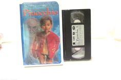 Pinocchio VHS Movie Rated G New Line Home Video Limited Edition Magic Action
