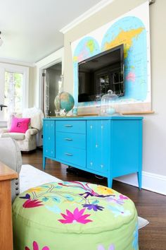 """color punched. Kelly's """"Cheery Rainbow"""" Room  Room for Color Contest"""