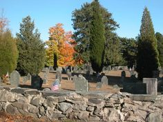 Cemetery in Middleboro, MA.   Go to www.YourTravelVideos.com or just click on photo for home videos and much more on sites like this.