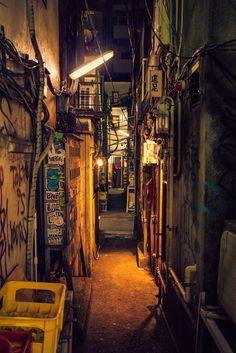 Tokyo Alley [683x1024] [OC]