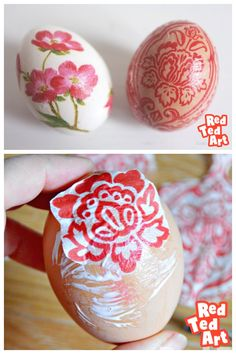 Napkin decoupage is one of the great Egg Decorating Ideas to try out. Napkins come in so many colours and designs the choices are endless! Paper Crafts For Kids, Easy Crafts For Kids, Diy Crafts, Easter Art, Easter Crafts, Easter Ideas, Easter Decor, Easter Eggs, Easter Activities