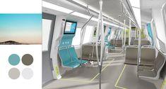 futuristic train interiors - Google Search